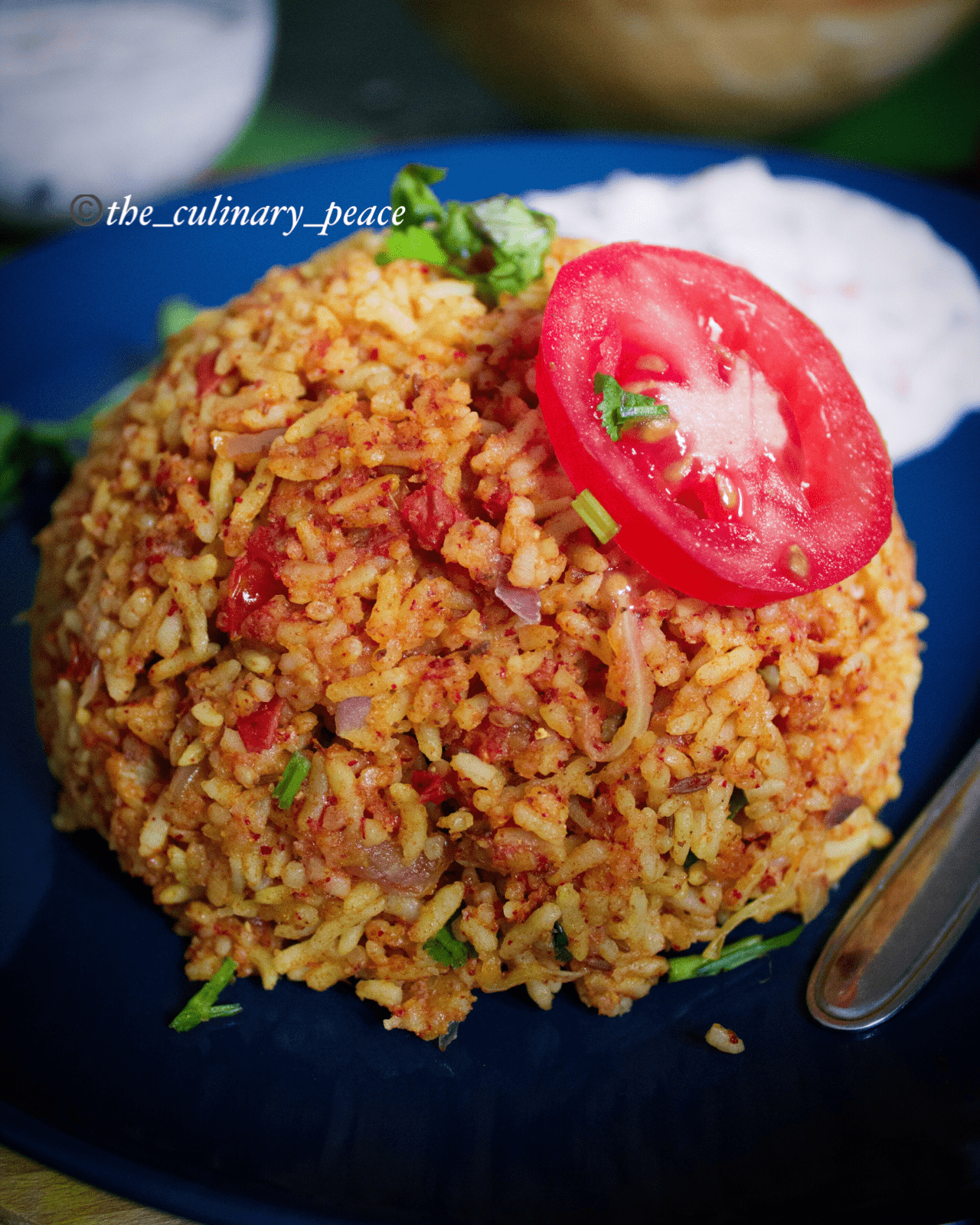 One-Pot Tomato Rice Recipe
