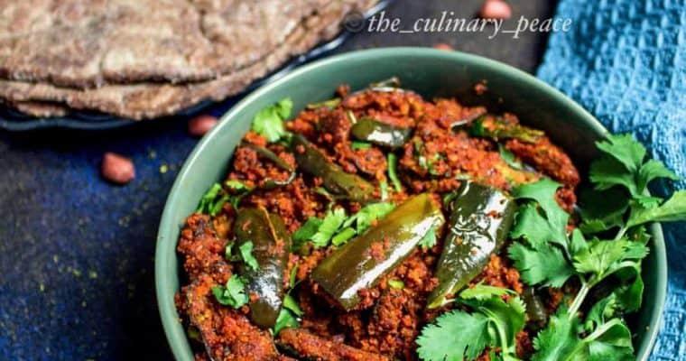 Badanekayi Shenga Palya | Eggplant Peanut Dry Sabji Recipe