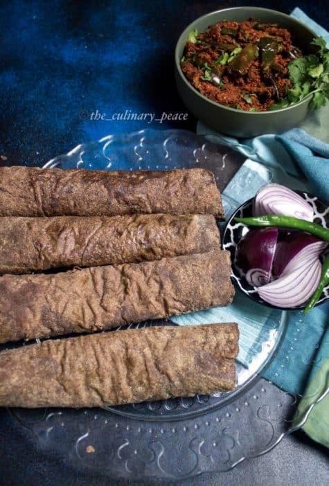 Soft Ragi Rotti | Ukkarisida Ragi Rotti with Stepwise Pictures