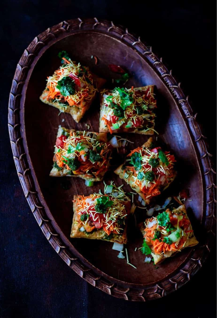 indian puff pastry appetizer