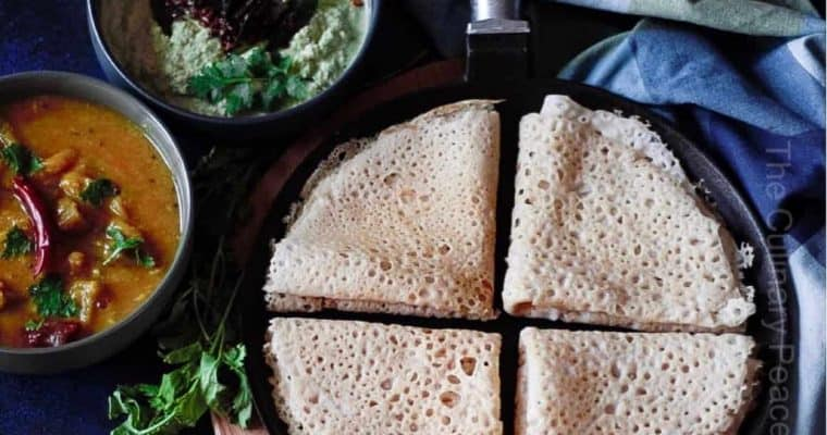 Brown Rice Neer Dosa Recipe with Beginner Friendly Tips